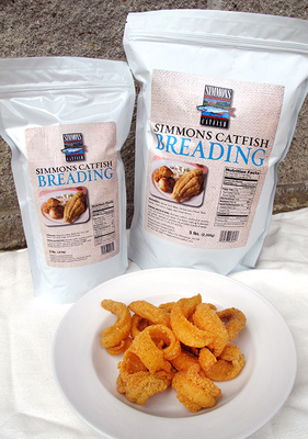 Simmons Seafood and Poultry Breading 2 lb. Bag