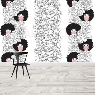 Bubble gum Wallpaper mural