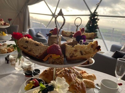 Traditional Sparkling Afternoon Tea at The Private Hill