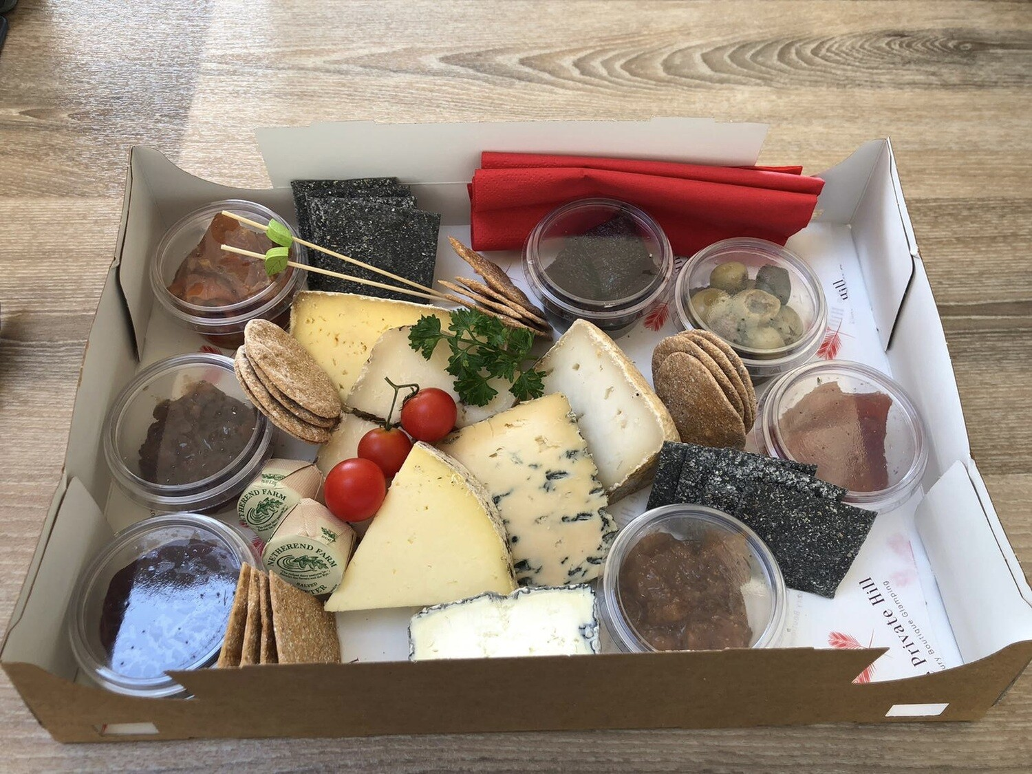 The Private Hill Cheese Platter for Two