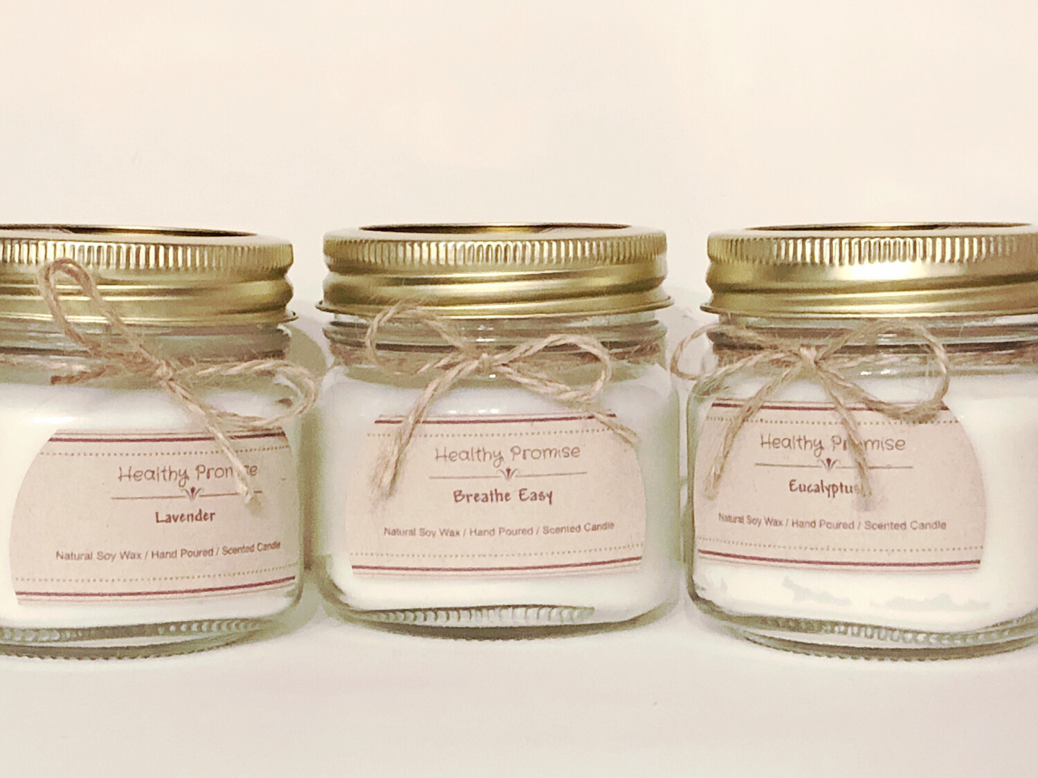 Healthy Promise 8 oz Natural Soy Candles