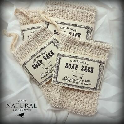 Natural Fibre Soap Sack