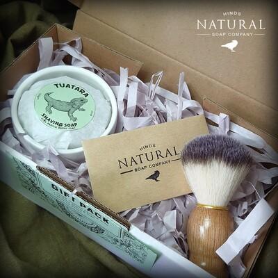 Tuatara Shaving Soap Gift Box