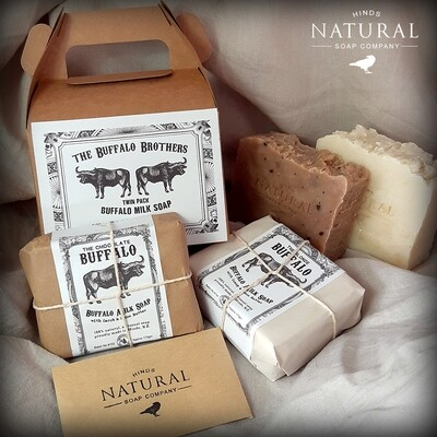 The Buffalo Brothers - Twin Pack  Large Buffalo Milk Soaps