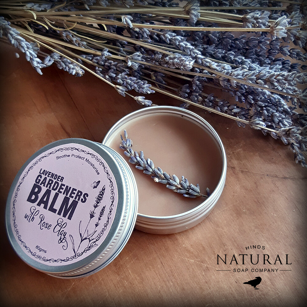 Lavender Gardeners Balm with Rose Clay
