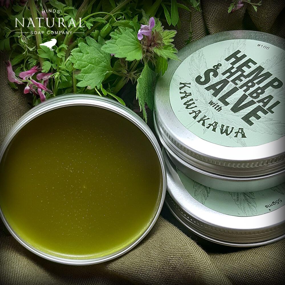 Hemp & Herbal Salve with Kawakawa