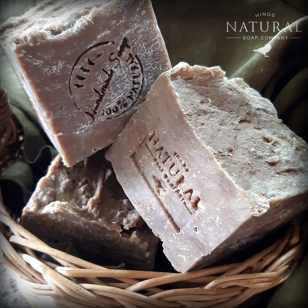 Large French Block - Olive Oil soap with Green Tea