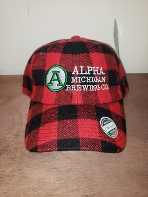 Ball Cap:Buffalo Plaid