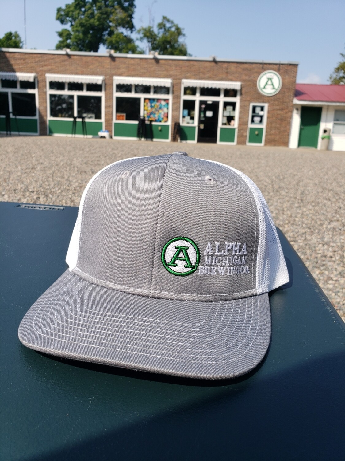 Ball Cap: Structured Trucker Small Logo