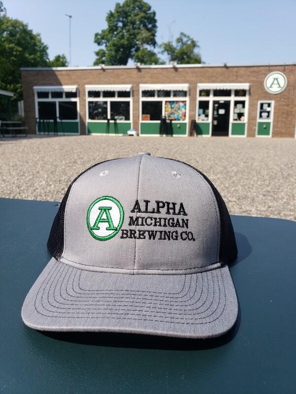 Ball Cap: Structured Trucker/Lg Logo