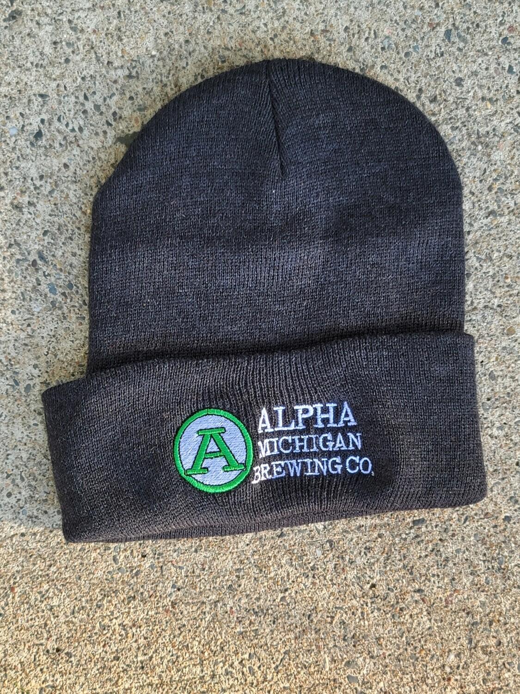 Winter Hat- Cuffed Beanie Charcoal