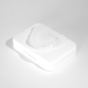 Custom Fit Nightguard – Lower – Teeth Grinding – 3mm Single Laminate