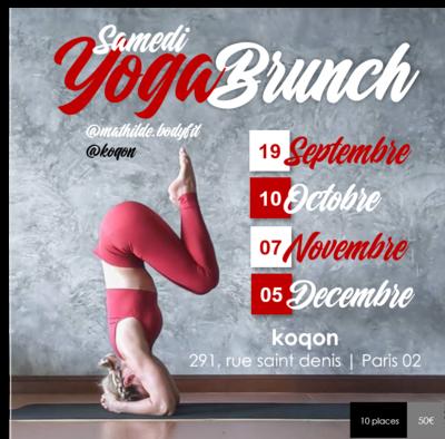 YOGA BRUNCH (Samedi)