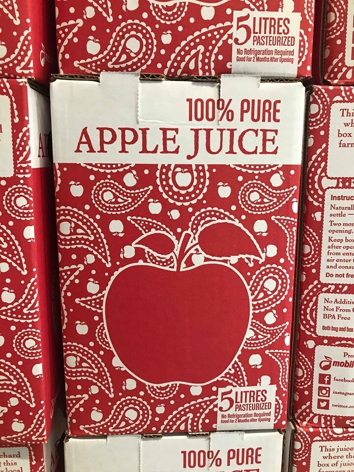 Fresh Apple Juice 5 L