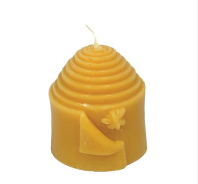Peek a Bee Beeswax Candle