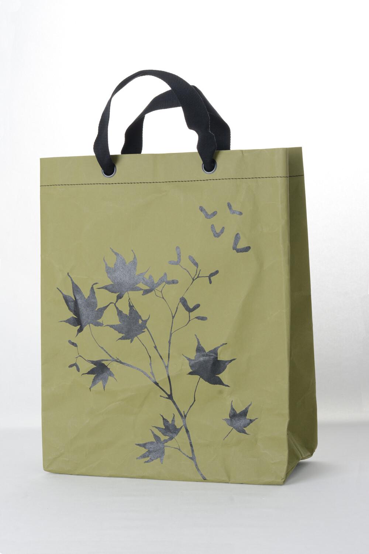 Shopper Ahorn grün