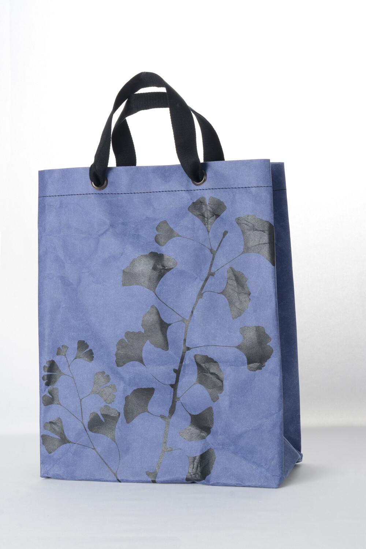 Shopper Ginkgo kobaltblau