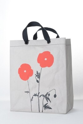 Shopper Mohn grau