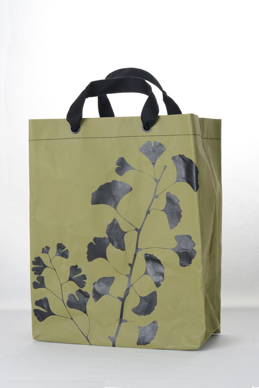 Shopper Ginkgo grün