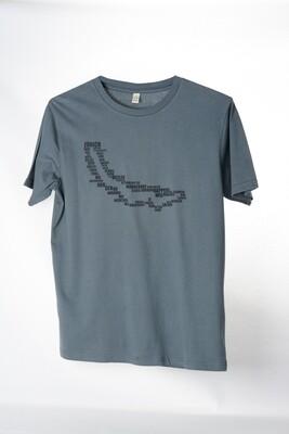 T-Shirt Zürisee (unisex) grau