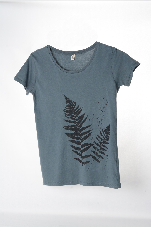 T-Shirt Farn (female) grau