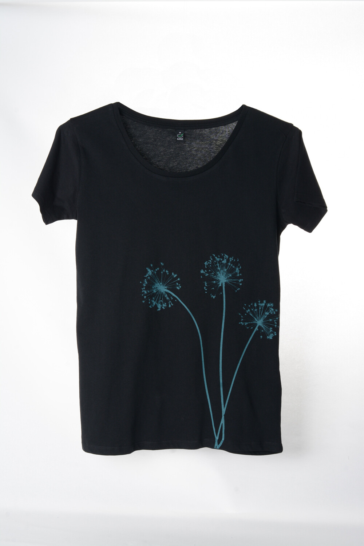 T-Shirt Knobli (female) schwarz