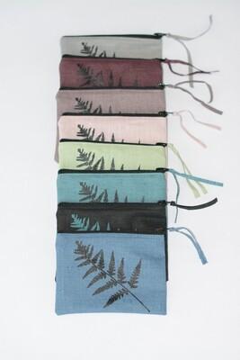 Portemonnaie/Maskenetui verschiedene Farben Farn