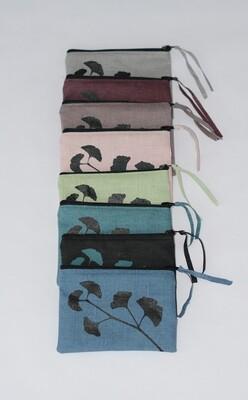 Portemonnaie/Maskenetui verschiedene Farben Ginkgo