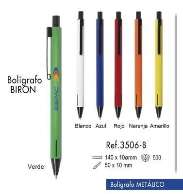 """Bolígrafo """"Biron"""". Bolígrafo metálico"""
