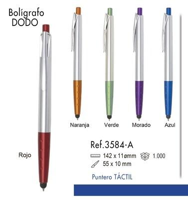 Bolígrafo Dodo. Puntero táctil