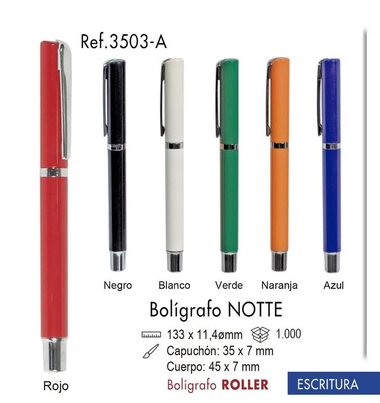 Bolígrafo Notte. Bolígrafo roller