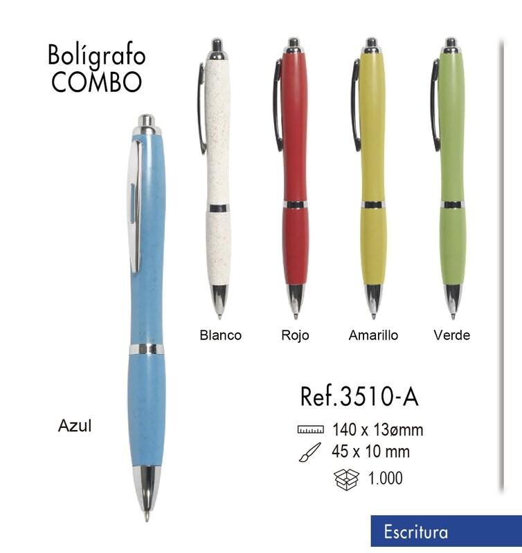Bolígrafo Combo
