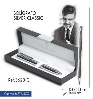 "Bolígrafo ""Silver Clasic"""