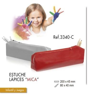 """Estuche de lápices """"Mica"""". Tamaño 20 X 4,5 cm"""
