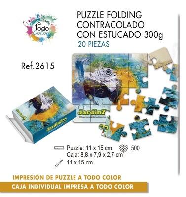 Puzzle impreso a todo color. Medias 11 X 15 cm