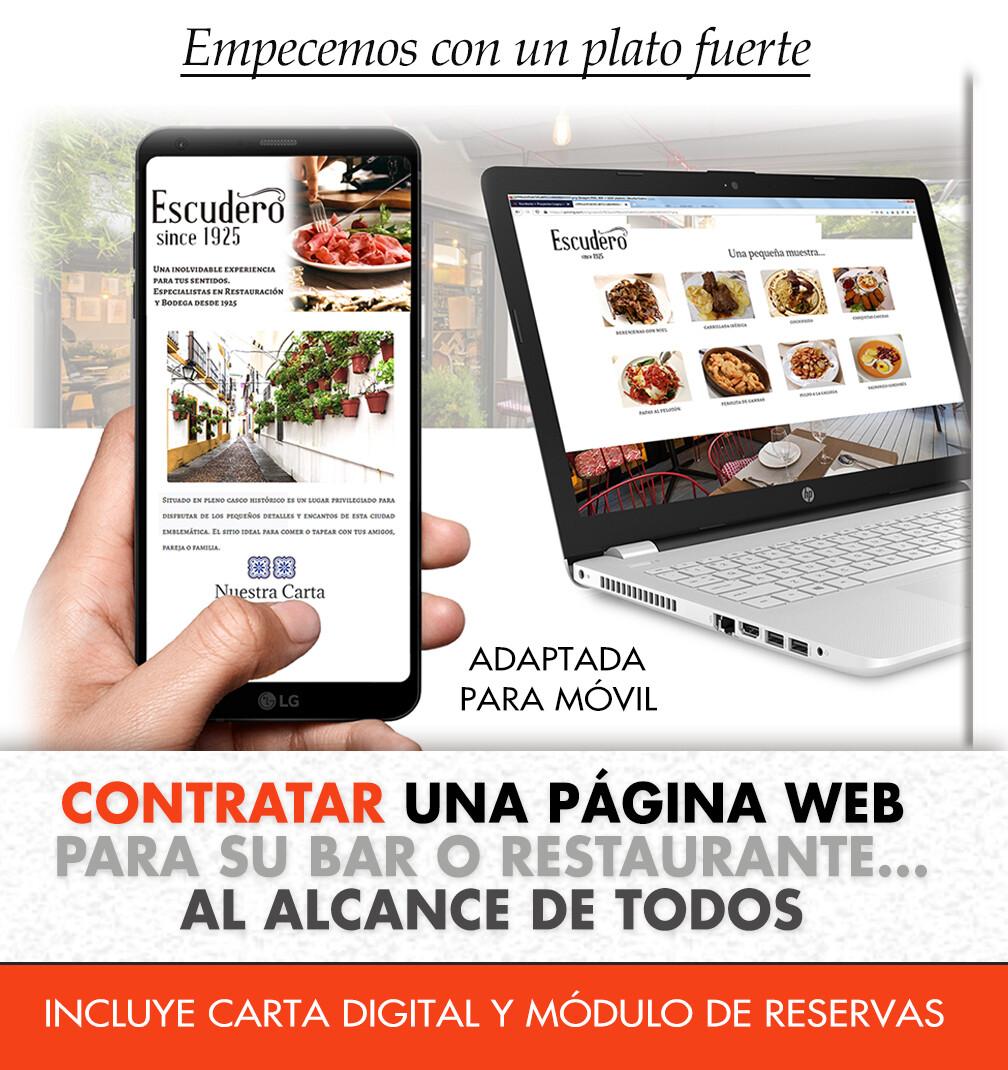 Una web para mi restaurante