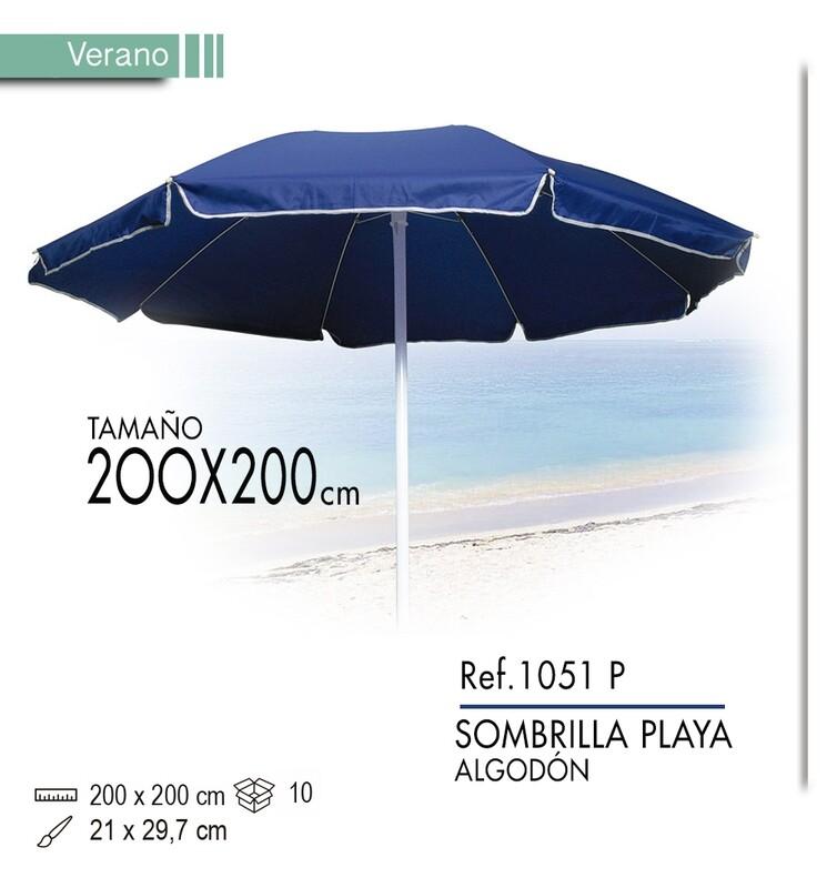 Sombrilla de playa