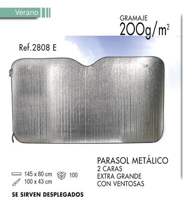 Parasol metálico 2 caras