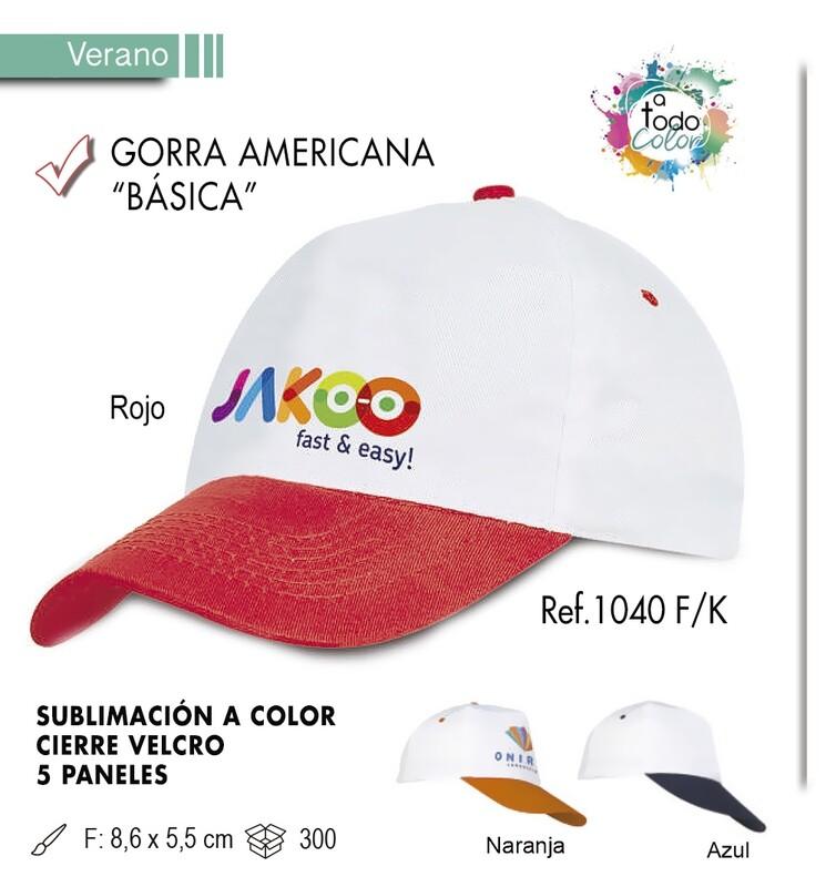 Gorra americana básica