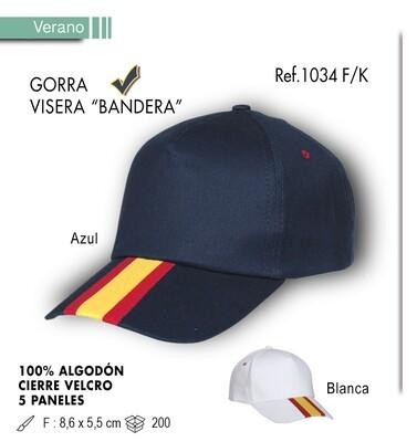 Gorra bandera española