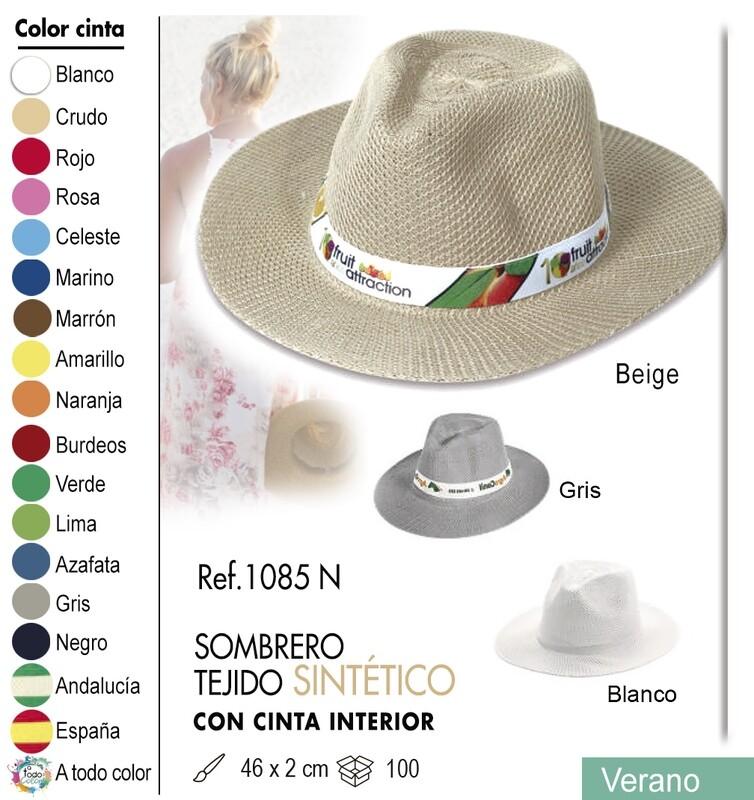 Sombrero sintético
