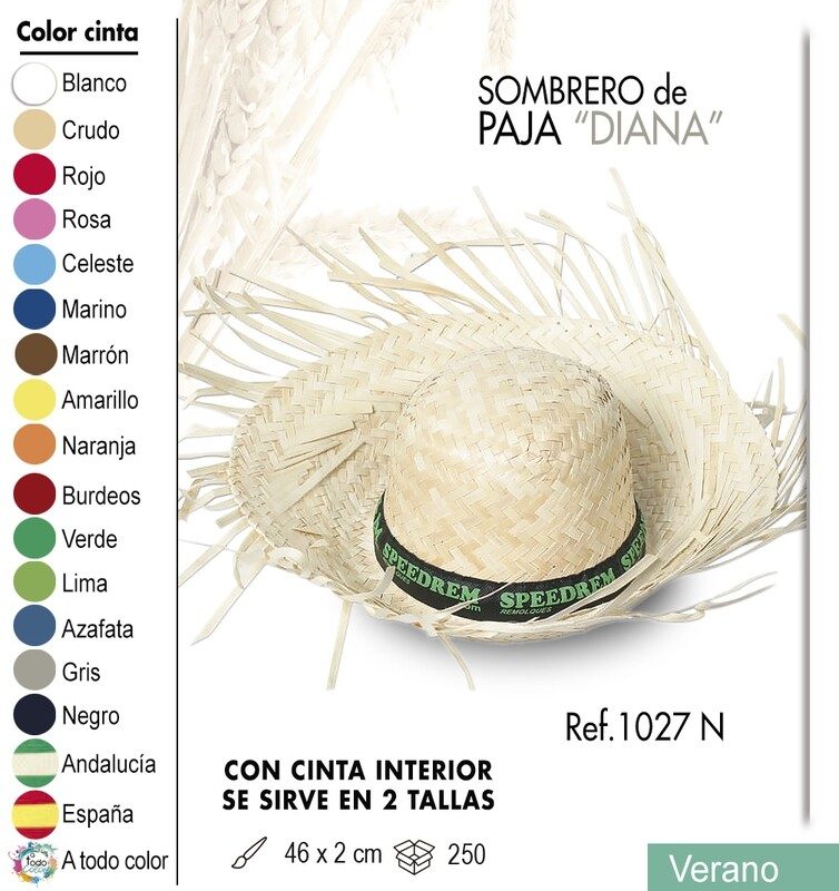 Sombrero de paja Diana