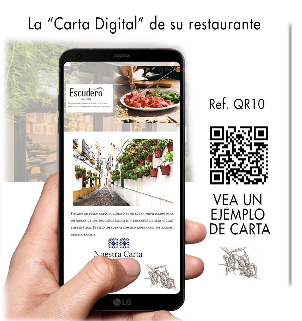 Carta digital de restaurante