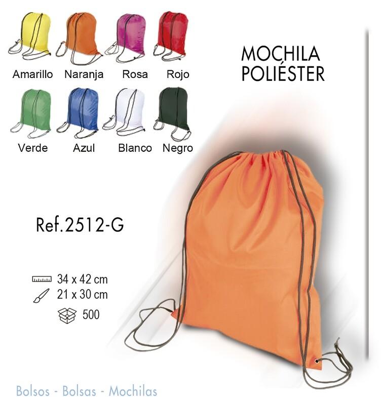 Mochila poliéster