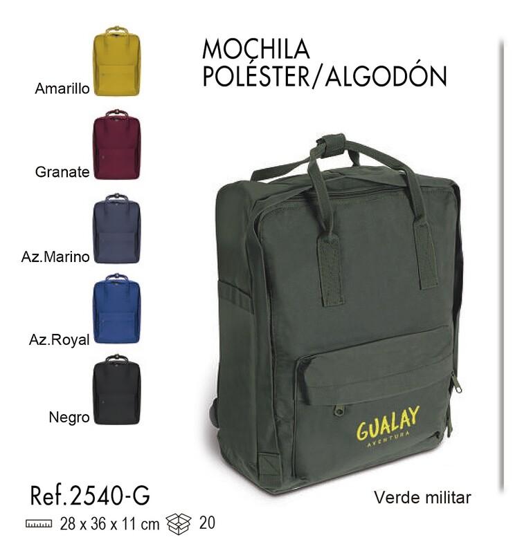 Mochila Poliéster/Algodón