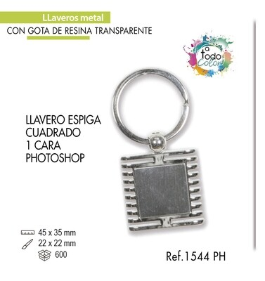 LLavero Espiga Photoshop