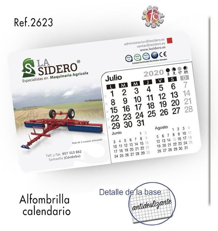Calendario Alfombrilla para ratón