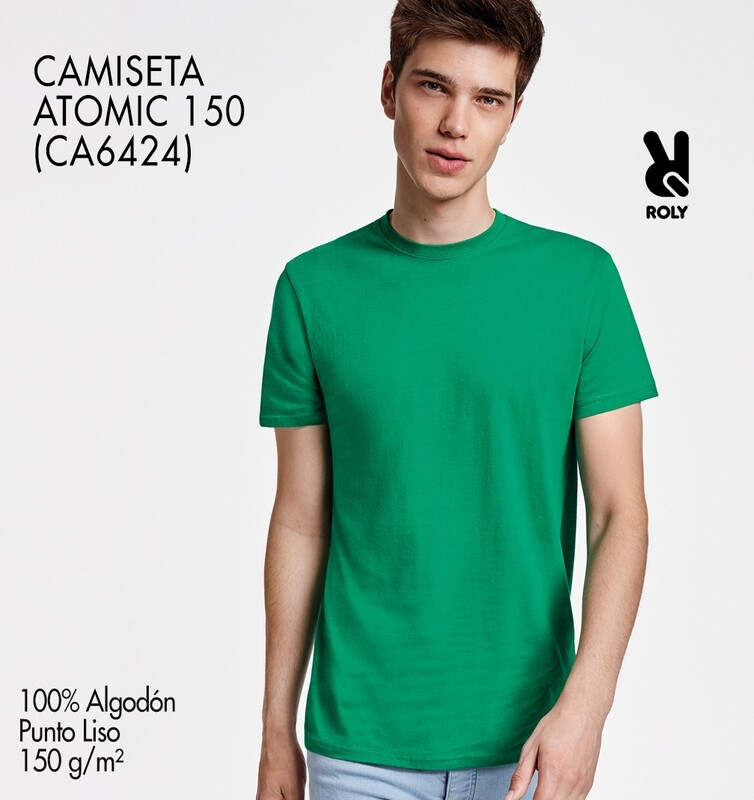 CAMISETA ATOMIC 150 Serigrafía