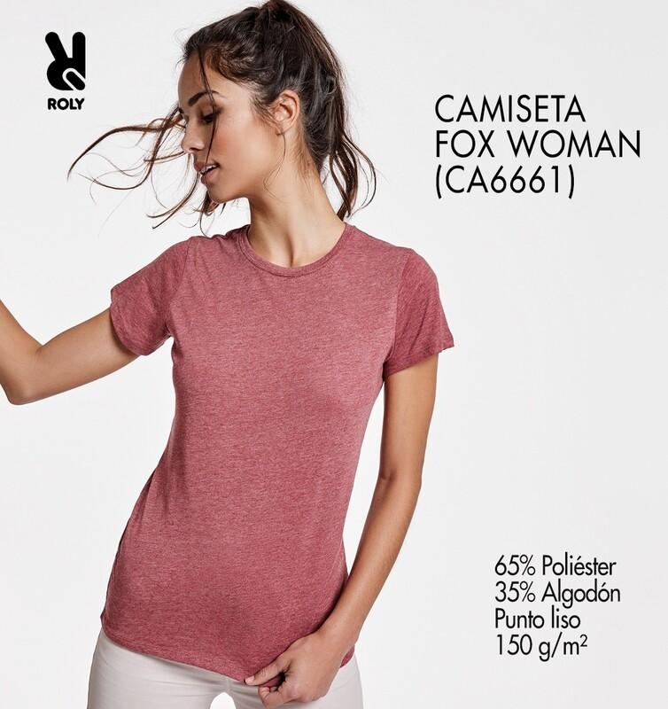 CAMISETA FOX WOMAN Bordado
