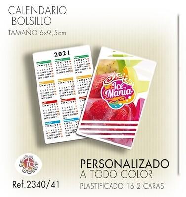 Calendarios BOLSILLO ESPECIAL